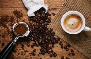 кафе на зърна и кафе