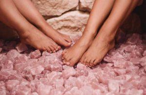 Хималайска сол и дамски крака