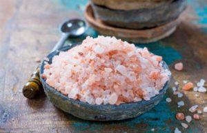 Купа розова хималайска сол