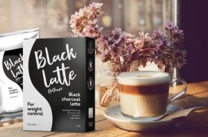 Чаша Black Latte кафе