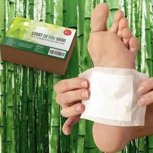 Start Detox 5600 пластири, крак, бамбук
