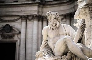 статуя на мъж