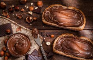филии, течен шоколад