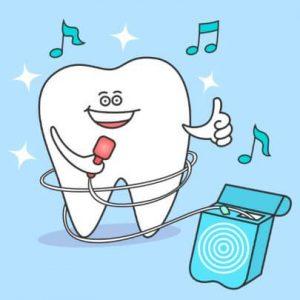 зъб, конец
