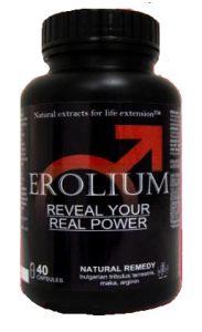 Erolium Forte Max 40 капсули за потентност България