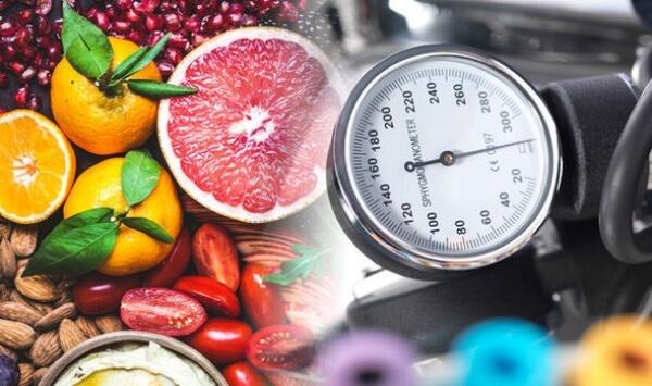 dash диета, кръвно налягане