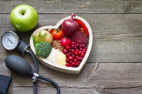 диета, кръвно налягане
