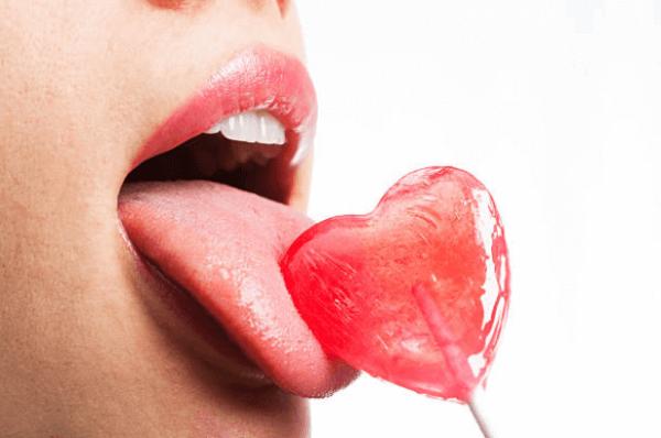 секс, наука, език, близалка