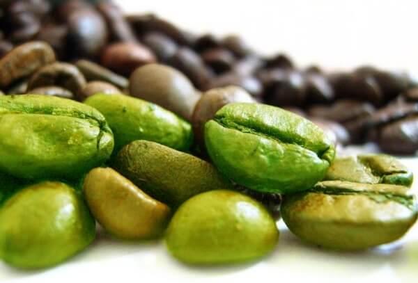 зелено кафе, зърна