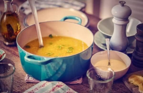 диета, пилешка супа, зелева супа