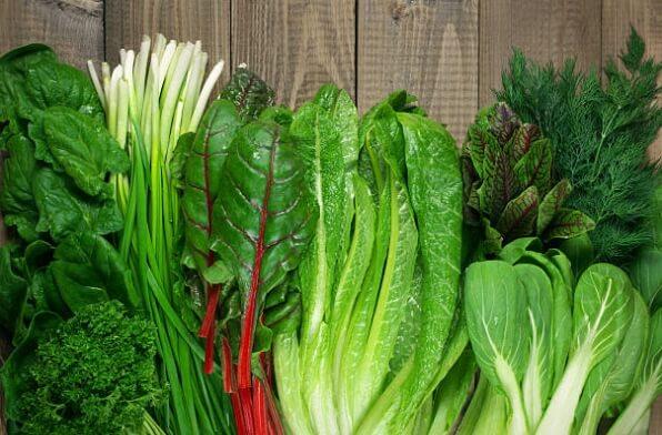 Зеленолистните Зеленчуци
