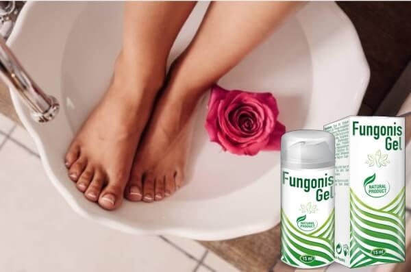 fungonis gel, крака, роза