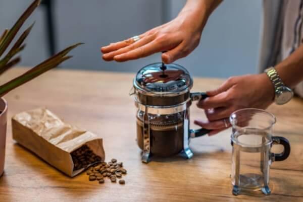 диета, кофеин, преса за кафе
