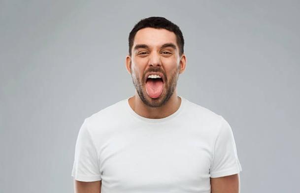 мъж, език