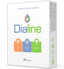 Dialine за диабет 20 капсули България