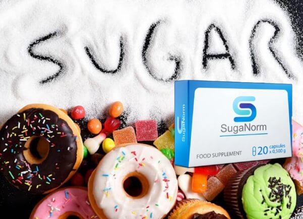 SugaNorm, сладки, захар