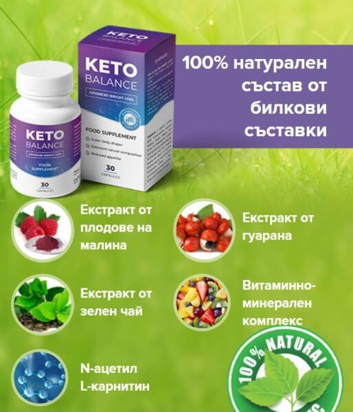 KetoBalance съставки