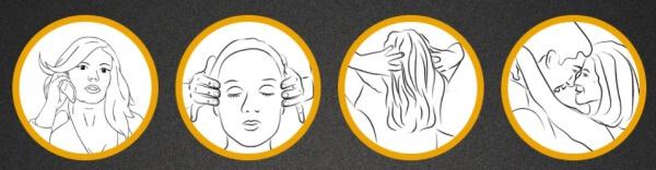 употреба серум за коса